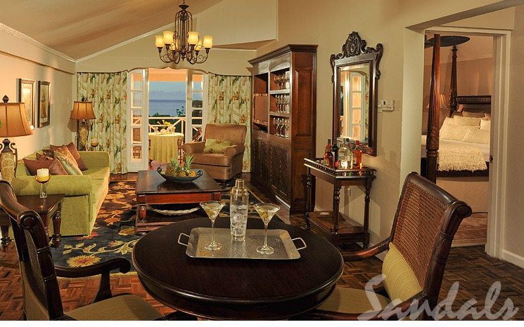 Great house suite une chambre majordome